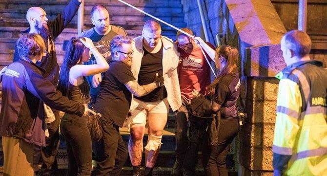 Terroristische aanslag Manchester